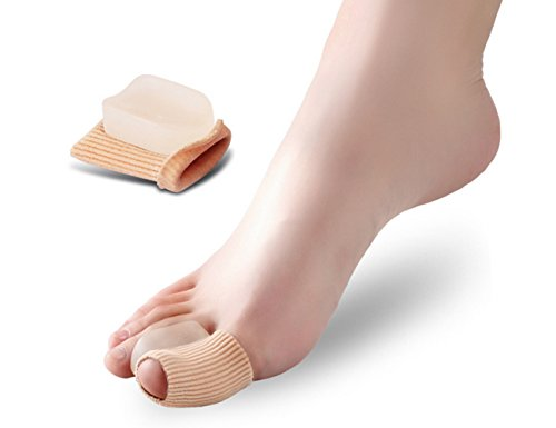 Preisvergleich Produktbild Fußpflege Hallux valgus Silikon-Zehen-trennschutz täglich-verwenden Sie elitzia ETFT032