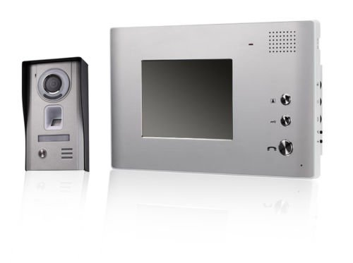 Video Biometric Access Control Intercom w/ Night Vision & Holds 150 Fingerprints