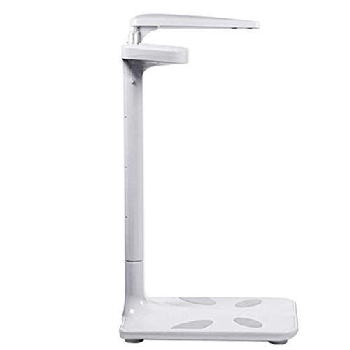 HYLH Electronic Scales Ultrasonic Height Adjustable Body Fat Meter Analyzer Weight Health -