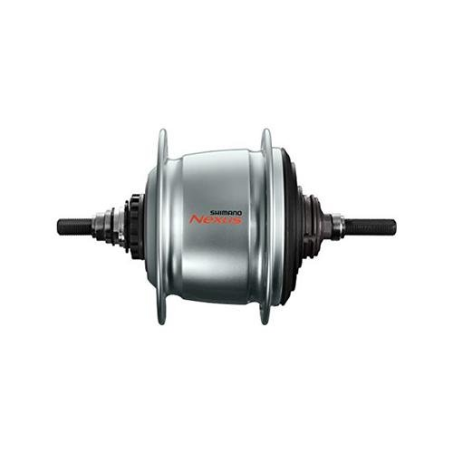 Taylor-Wheels Nabe Hinterrad Shimano SG-C6000-8VASA Nexus 8 Gang Freilauf Silber 36 Loch