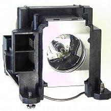 PJxJ Lámpara ELPLP48 / V13H010L48 para EB 1700 / EB 1720 / EB 1723 / EB 1725 / EB 1730W / EB 1735W / EMP 1720 / EMP 1725 / EMP 1730W / EMP 1735W