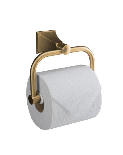 Kohler Memoiren® Toilettenpapier-Halter mit Design Manor, 490-BV (Design House Wc-papier-halter)