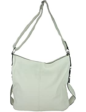 MAHEL A9050-3A 'Mima' große Damen Tasche, Umhängetasche in versch. Farben mit langen Trageriemen, 40x35x23 cm