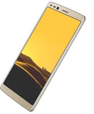 DOOGEE Mix 2-5,99 Zoll (18: 9-Verhältnis) FHD Android 4G Smartphone Gesichtserkennung, Helio P25 Octa Core 2,5 GHz 6 GB + 64 GB, Quad-Kamera (Weitwinkel) 4060mAh Batterie - Gold