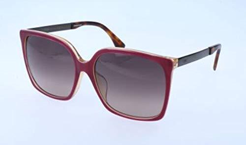 Fendi Damen FF 0076/F/S DXV/XQ-58-17-145 Sonnenbrille, Rot, 58