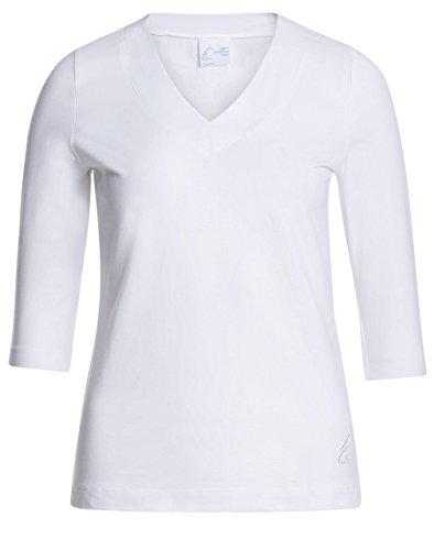 Esparto Sundar–Camiseta (de XS a XXL, algodón orgánico, color Schneeweiss, tamaño XXL