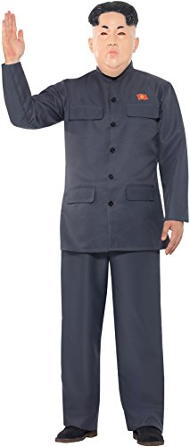SMIFFY 'S 47203M Diktator Kostüm, grau, M–UK Größe (Amazon Das Kostüm Diktator)