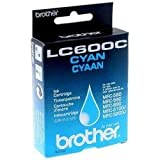 Brother LC600C - Cartucho original, cian