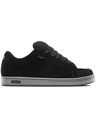 Etnies Herren Kingpin Skateboardschuhe Schwarz (Black/Charcoal/Red)