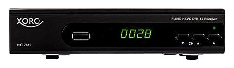Xoro HRT 7619 FullHDHEVC DVBT/T2Receiver(HDTV, HDMI, SCART, USB 2.0, LAN)