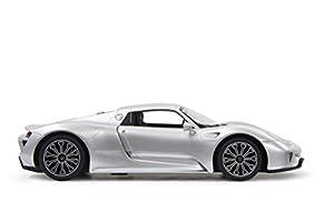 New York Gift TY115-Silver 1:24 - Peluche electrónico de Porsche 918