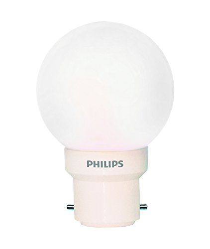 Philips Deco Mini 0.5-Watt B22 Base LED Bulb (White)
