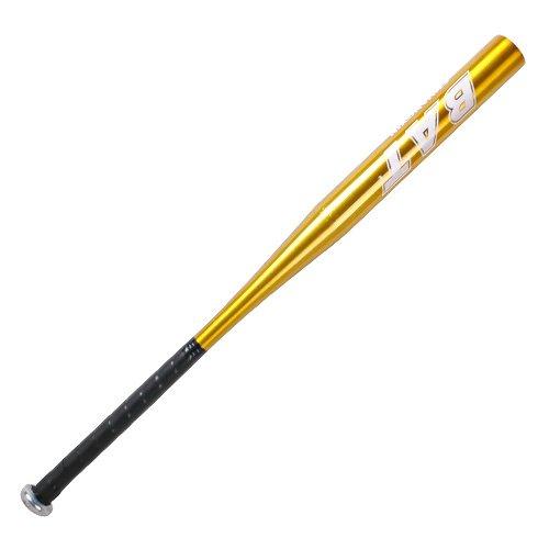 [mia.home®]Baseballschläger Aluminium Baseball - Gold