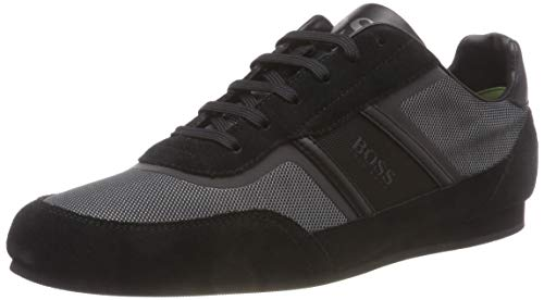 BOSS Herren Lighter_Lowp_flash2 Sneaker, Schwarz (Black 001), 42 EU
