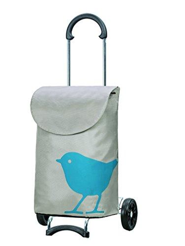 Original Andersen Scala Shopper mit Tasche Bird türkis