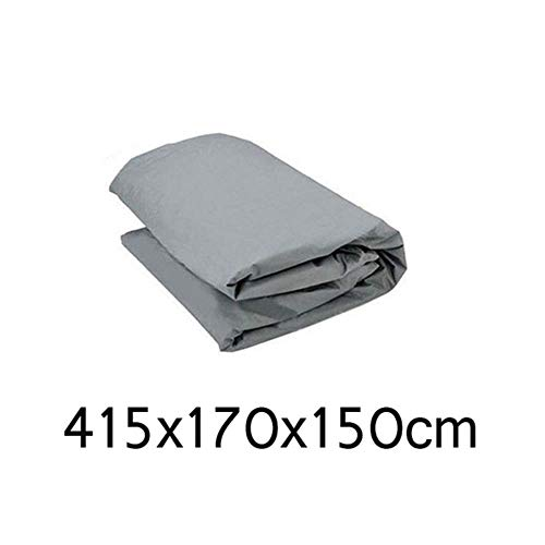 HIZH Full Cover Anteriore dell'automobile Wndow Copertura/Schermo di Sun della Copertura della Protezione di Protezione Esterna Polvere del Vento Neve Pioggia Auto Accessori Styling, 415X170X150Cm