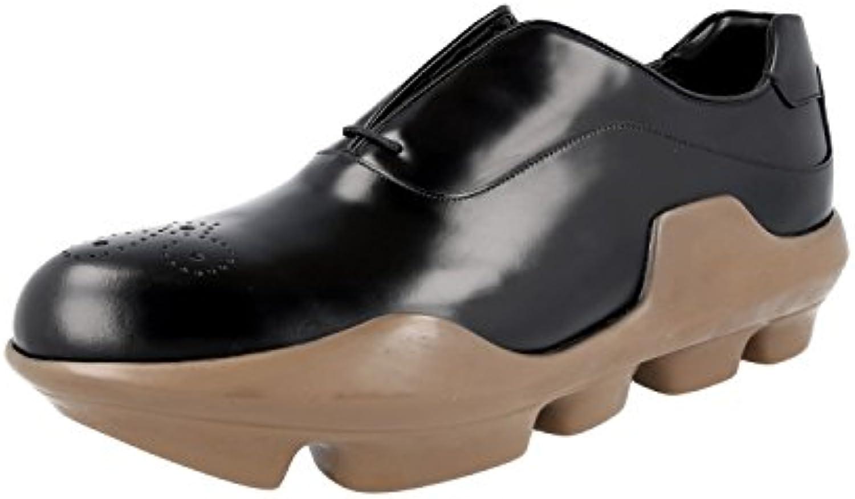 Prada 2EG125 B4L F0632 - Zapatos de Cordones Para Hombre -