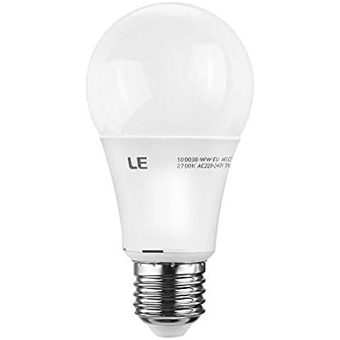 Le 9,5W dimmerabile A60E27Lampadine a LED, ricambio per 60W ad Incandescenza, 750lm, Luce Bianca Calda, 2700K, 270° angolo di diffusione di, LED lampadine, LED lampadina