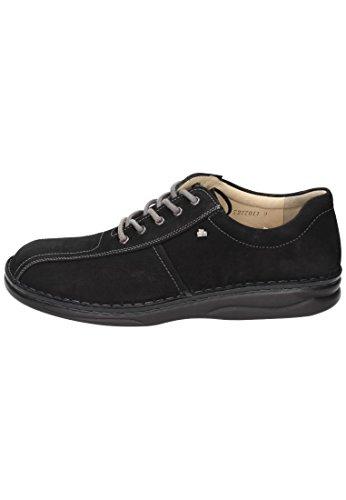 Finn Comfort  Finn Comfort Herren Schnürer, Chaussures de ville à lacets pour homme noir noir Noir