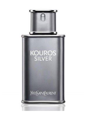 Kouros Silver FOR MEN by Yves Saint Laurent - 3.4 oz EDT Spray by kouros silver -
