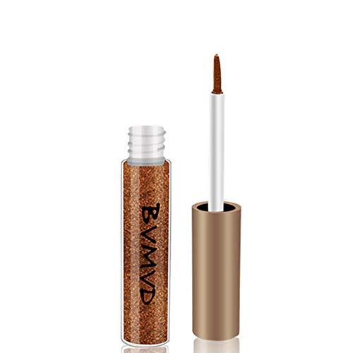 Palette fard à paupières, LHWY Maquillage cosmétique de poudre de fard à paupières mat Eyeliner Liquide Glitter Imperméable Fard À Paupières Métallique