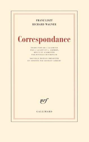 Correspondance par Richard Wagner