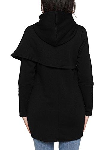 Happy Sailed - Sweat à capuche - Femme Noir
