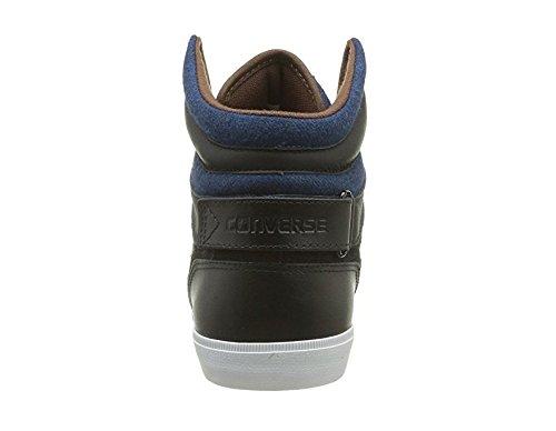 Converse As12 Americ Mid, Baskets mode mixte adulte Noir / Bleu