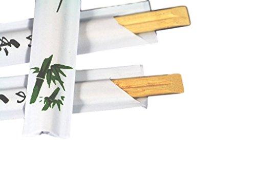 (confezione di paia) usa e getta in legno di bambù bacchette confezionati singolarmente