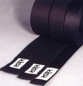 KWON Budogürtel 5 cm in schwarz 300
