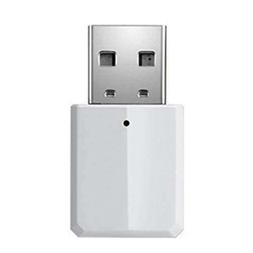 Wireless Audio Receiver Sender 2-In-1 V5.0 Mini Audio Adapter 3,5 Mm Aux - weiß
