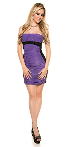 In-Stylefashion - Robe - Brassière - Femme violet lilas taille unique Lilas