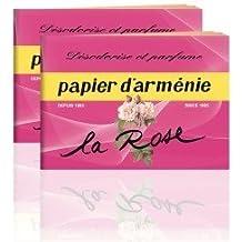 Papier d'Arménie S.E - Papier D'Armenie A La Rose - Le Carnet