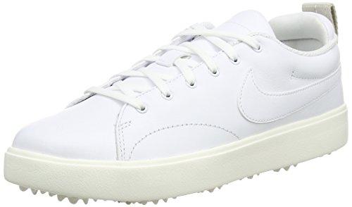 NIKE WMNS Course Classic, Chaussures de Golf Femme, Blanc (Blanco 100), 38.5 EU
