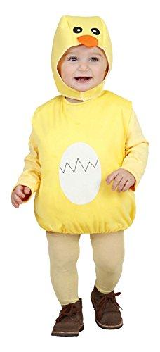 Küken-Kostüm für Kinder 80/98 (1-3 Jahre) (80 Kostüme Ideen Für Kinder)
