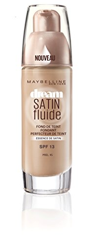 Gemey-Maybelline - Dream Satin Fluide - Fond de teint liquide - 45 miel - 30 ml