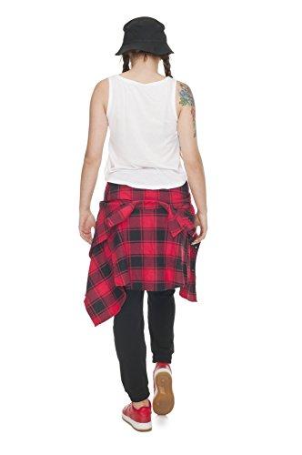 Top Court pour Femme Mesdames Été T-shirt pour homme Varsity Chemisier d'été pour femme sans manche blanc UK 6/8/10 - Twerk Team