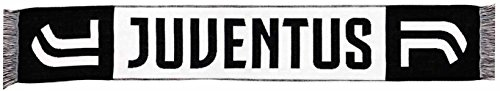 Sciarpa ufficiale juventus 2017/2018 nuovo logo jacquard classica