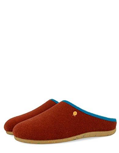 Gioseppo Man black slippers by Orange