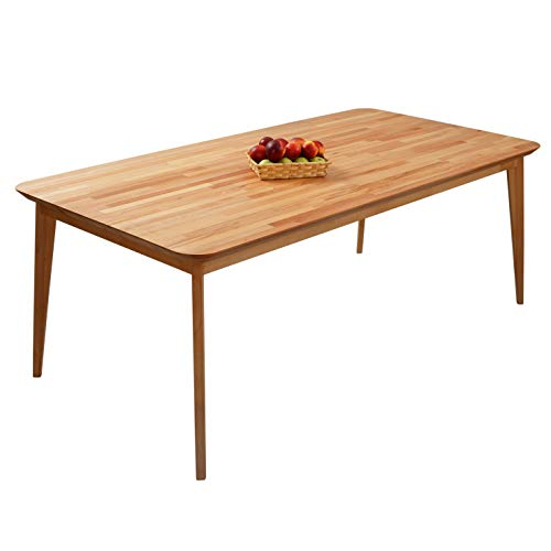 Krokwood Paris Massivholz Esstisch in Buche 200x100x75 cm FSC100{d29d25c0fee163e599544d72fb111929847da23d828e6bf024a359408e7ac54f} massiv Beistelltisch geölt Buchenholz Esszimmertisch Küche praktischer Küchentisch Holztisch vom Hersteller
