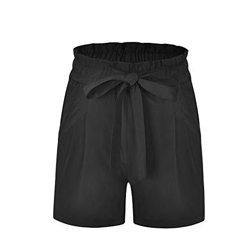 Kurzen Hosen | Kurzen Hosen Damen Online Schwarz Elastischer