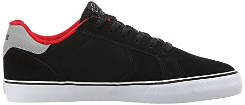 Etnies Fader Ls Vulc, Chaussures de Skateboard Homme Noir (black/white/gum)