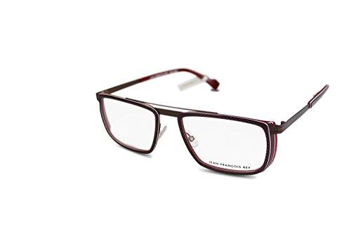 08a5c55e510 JF Rey Brille Herren eyeglasses Pilotenbrille JF2648 col.3533 Braun-Rot