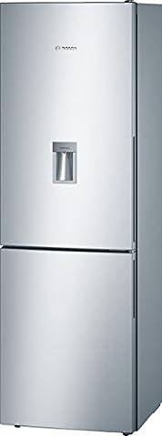 Bosch KGW36XL30S Serie 6 Kühl-Gefrier-Kombination / A++ / 186 cm Höhe / 227 kWh/Jahr / 215 Liter Kühlteil / 94 Liter Gefrierteil / kühlt sehr sparsam