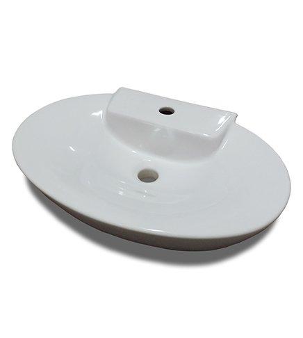 Lavabo Lavabo Bassine d'appui, cm.58 x 38, Art Ceram mod. Minimax