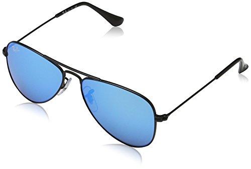 Ray-Ban Junior Unisex - Kinder Sonnenbrille 9506S, Blau, 50-13-120
