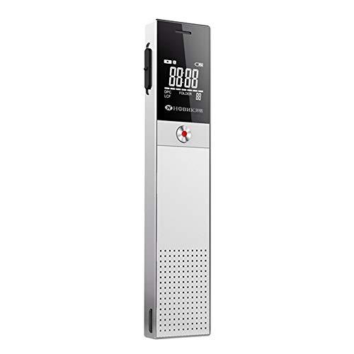 AWIS Digitales Diktiergerät mit MP3-Player,Sprachaktivierte Aufnahme,Automatische Rauschunterdrückung,Tastensperre Design,PC/Mobiltelefon Verbindung,8GB