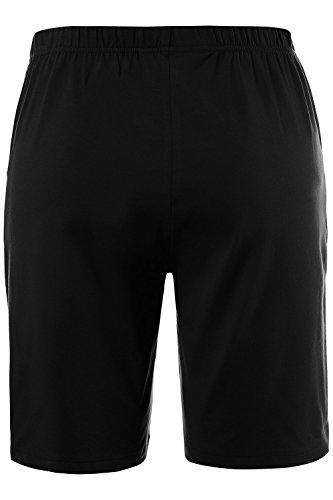 Ulla Popken Femme Grandes tailles Short jersey 710916 Noir