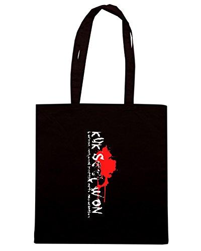 T-Shirtshock - Borsa Shopping TAM0025 dark kuk sool won tshirt Nero