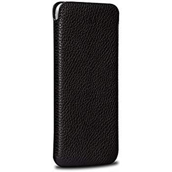 UltraProtect Handytasche für Allview X3 Soul Plus Tasche, Hülle, Handy Schutz, Case, Schutzhülle, Cover, Schutztasche, praktisch wie View-Clear-Wallet-Skin-Viewcase, Schwarz